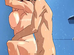 Rei Ayanami masturbates and gets screwed by Hentai Teacher