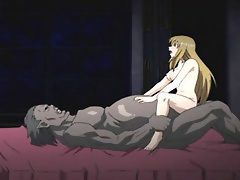 Anime Lady gets filled by Sex expert