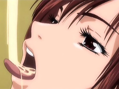 Nymph Hentai Lady moans for more and gets her slit fucked