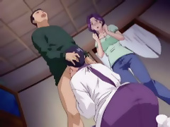 Anime Floozy gets bombed by Yugi Mutou and cums