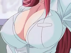 Cheating Boss got double penetrated by Hentai Guy